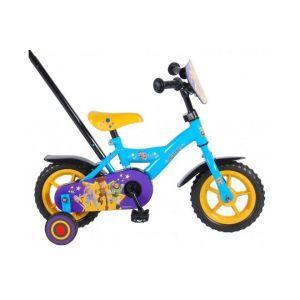 Disney Toy Story 4 Bicicleta para niños - Niños - 10 pulgadas - Azul / Amarillo