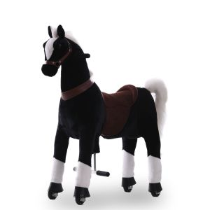 Kijana caballo de juguete marrón grande