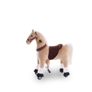 Kijana caballo de juguete beige pequeño