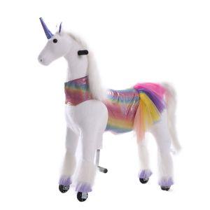 Kijana juguete para montar unicornio Sunshine grande