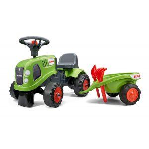 Falk Baby Case Tractor groen prijstechnisch autovoorkinderen