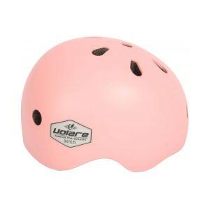 Volare casco de bicicleta para niñas rosa claro 45-51 cm