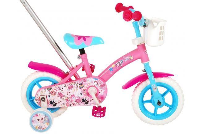 OJO bicicleta para niños - Niñas - 10 pulgadas - Rosa / Azul