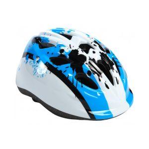 Volare casco de bicicleta para niños XS azul blanco 47-51 cm modelo extra pequeño