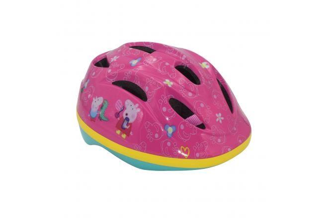 Peppa Pig casco de bicicleta rosa 51-55 cm