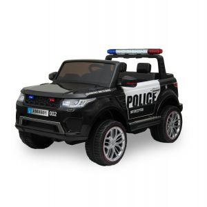 Kijana Coche de policía eléctrico para niños estilo Ford Ranger negro