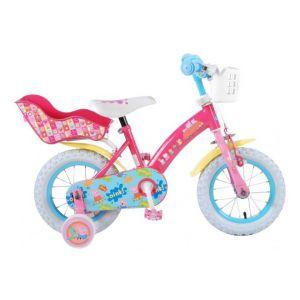 Bicicleta infantil Peppa Pig - Niñas - 12 pulgadas - Rosa