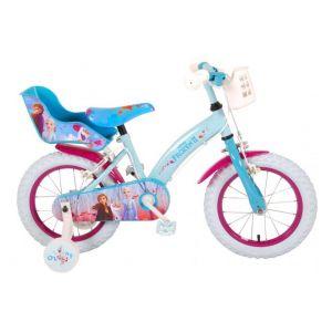 Volare Disney Frozen 2 Kinderfiets - 14 inch - Blauw/Paars