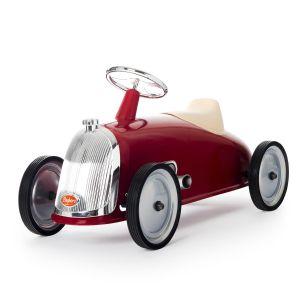 Baghera loopauto Rider retro rood