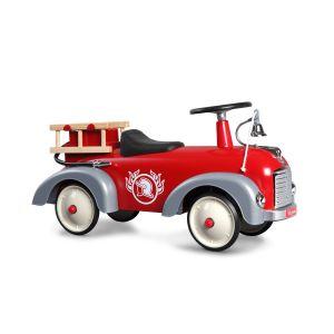Baghera loopauto Speedster retro brandweerauto