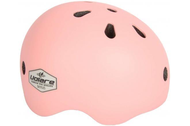 Volare casco de bicicleta para niñas rosa claro 51-55 cm