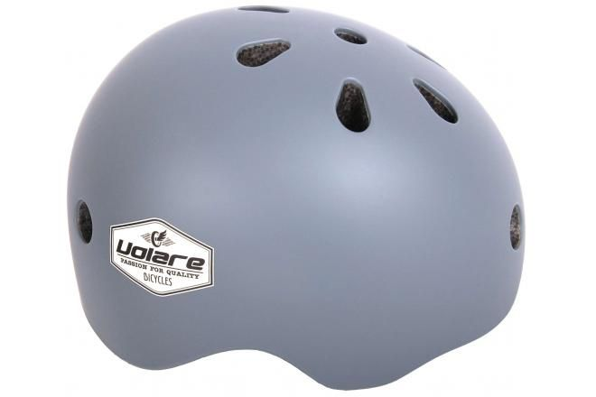 Volare casco de bicicleta para niños gris 45-51 cm
