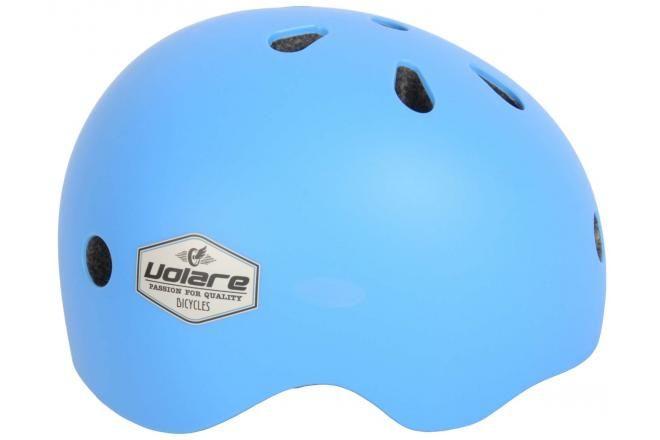 Volare casco de bicicleta para niños azul 51-55 cm