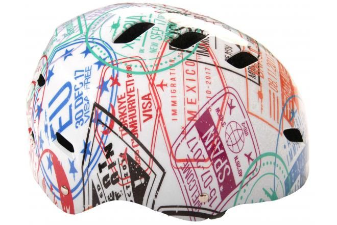 Volare casco de bicicleta / skate travel the World 55-57 cm