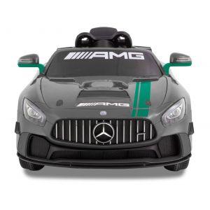 Mercedes elektrische kinderauto GT4 grijs