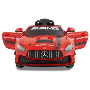 Mercedes coche eléctrico para niños GT4 rojo