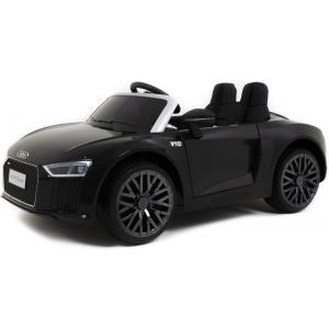 Audi coche eléctrico para niños R8 cabrio negro