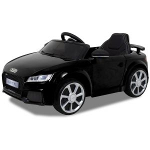 Audi cocheeléctrico para niños TT RS negro