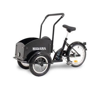 Kijana mini bicicleta de carga para niños negro