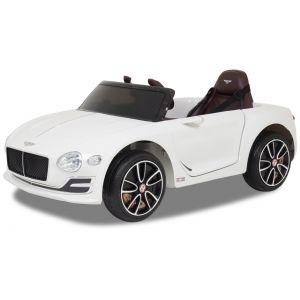 Bentley coche eléctrico para niños Continental blanco