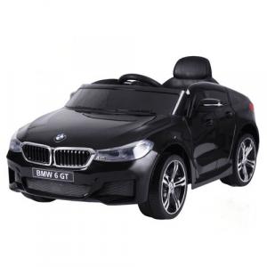 BMW cocheeléctrico paraniños 6-serie GT negro