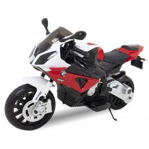 BMW motocicleta eléctrica para niños rojo S1000