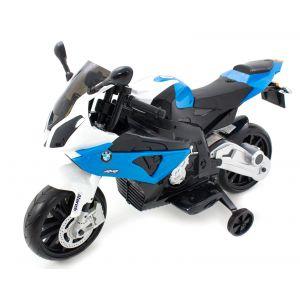 BMW motocicleta eléctrica para niños azul S1000