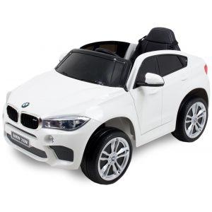 BMW cocheeléctrico paraniños X6 blanco