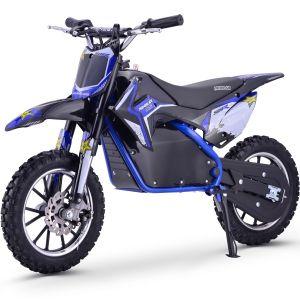 Kijana outlaw moto de tierra para niños 500W 9.0AH azul