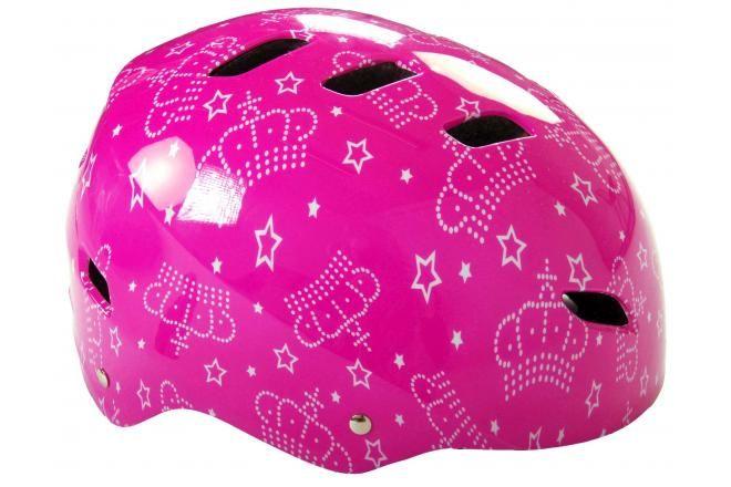 Volare casco de bicicleta / skate rosa 55-57 cm