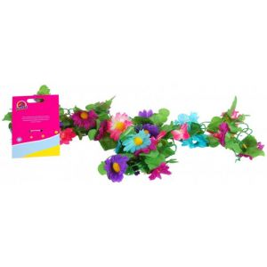 Volare guirnalda de flores para niñas multicolor