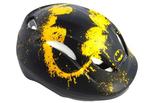 Casco de bicicleta Batman para niños - Negro - 51-55 cm
