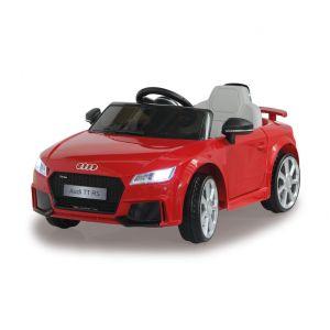 Coche infantil Audi eléctrico TT RS Rojo