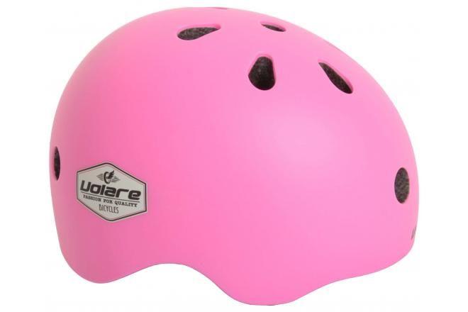 Volare casco de bicicleta para niños rosa 51-55 cm