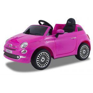 Fiat Coche eléctrico infantil 500 rosa