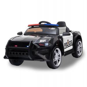 Kijana coche eléctrico para niños de policia Ford GT negro