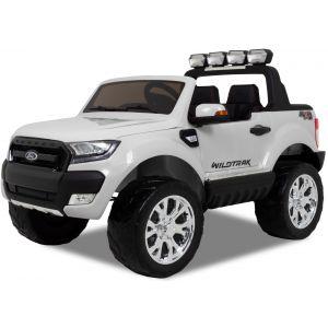 Ford Ranger coche eléctrico para niños blanco