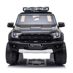 Ford coche eléctrico para niños Police Raptor negro