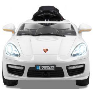 """Elektrische kinderauto """"Speedster"""" wit 12V"""