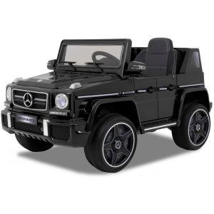Mercedes coche eléctrico para niños G63 AMG cabrio negro