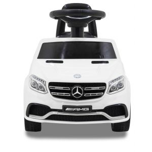 Mercedes GLS63 AMG loopauto wit vooraanzicht