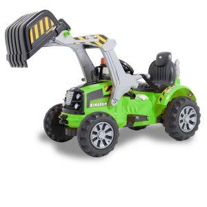 Kijana Kingdom excavadora eléctrica para niños verde