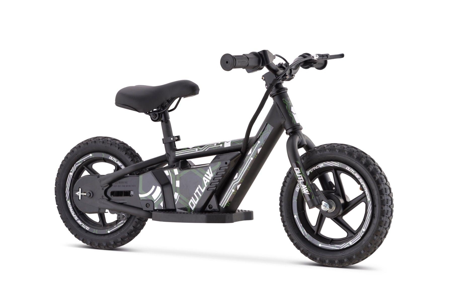"""Outlaw bicicleta eléctrica 24V litio con ruedas de 16 """"verde"""