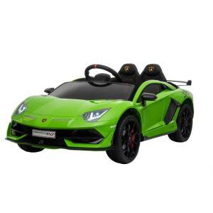 Lamborghini cocheeléctrico para niños verde