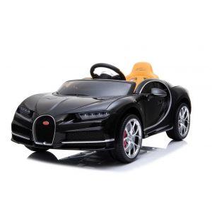 Bugatti Chiron kinderauto zwart