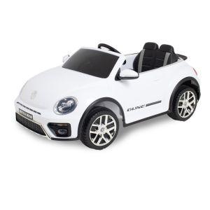 Volkswagen coche eléctrico para niños Dune Beetle blanco