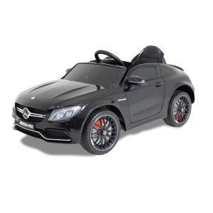Mercedes coche eléctrico para niños C63 AMG negro