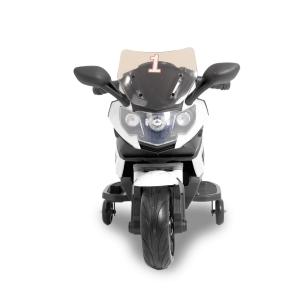 Kijana moto eléctrica infantil superbike negra - blanca
