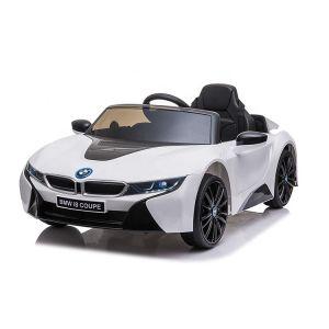 BMW coche eléctrico para niños I8 blanco