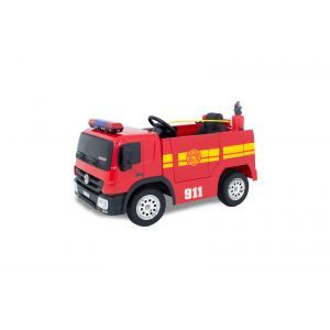 Kijana Camión de bomberos eléctrico para niños rojo